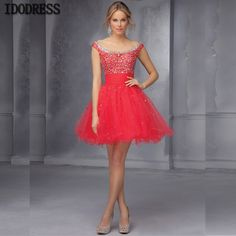 Aliexpress.com : Buy vestidos Scoop Beading Crystal Prom Dresses 2015 Cap Sleeves Coral Short Mini Prom Dresses Party Homecoming Dresses from Reliable dress up wedding dresses suppliers on idodress  | Alibaba Group