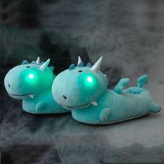 Smoko - Dragon Light up Slippers - Buy Online Australia Beserk