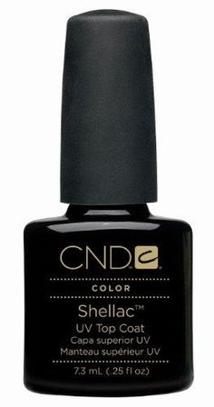 CND Shellac Color Coat with UV3 Technology, Top Coat***Leaves a mirror-like finish,On like polish,Wears like gel,.