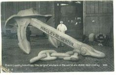 WOW! Now that's an Anchor. (Titanic's anchor recovered from the wreckage)