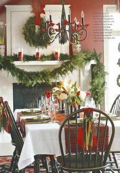 Christmas Table Decorations | Beautiful Christmas Table Ideas