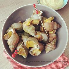cuisson des bulots  #bulots #seafood #mayonnaise