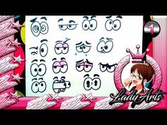 Ojos cartoon 3