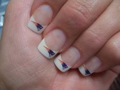 My New England Patriot Nails Mary Jackson
