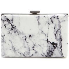 Balenciaga Printed Leather Box Clutch ($1,000) ❤ liked on Polyvore featuring bags, handbags, clutches, accessories, purses, bolsas, white, white purse, white leather purse and white box clutch
