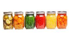 Risultati immagini per fruit vegetables canned
