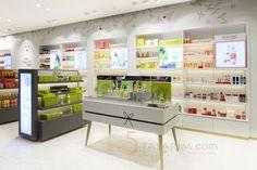 kozmetik mağazası dizaynı
