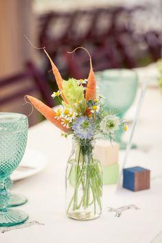 organic vegetable floral arrangements