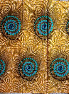 African Print / Ankara Fabric / Wax Print / African Cloth/