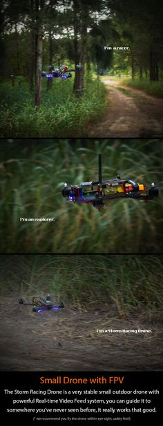 RC Helicopters with 4 Channels STORM Racing Drone (RTF / Type-A) - HeliPal