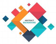 Modèle d'infographie abstraite colorée abstraite Vecteur gratuit