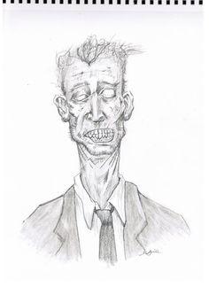 Zombie1 Sketches, Drawings, Illustration, Art, Faces, Art Background, Illustrations, Kunst, Gcse Art