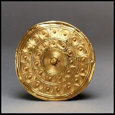 Disk From a Reel  Celtic (Ireland), 800 BC  The Metropolitan Museum of Art