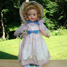 C1936 - Arranbee Nancy Doll Composition 13 Inch Princess Elizabeth All Original