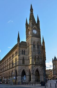 The Wool Exchange in Bradford, England.