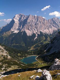 Zugspitze... would LOVE to go back someday.
