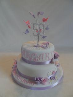 50th Birthday Cake #cavendishcakes