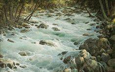 Mountain river Adir-Su. George Dmitriev