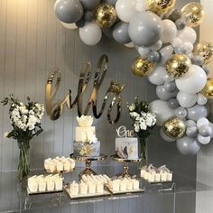 PartyWoo Gray and White Balloons 70 pcs 12 Inch Gray Balloons White Balloons Matte Balloons, Gold Confetti Balloons, Balloons for Wedding Graue und weiße PartyWoo-Luftballons 70 graue Luftballons 30 cm Shower Party, Baby Shower Parties, Baby Shower Themes, Baby Boy Shower, Baby Shower Decorations, Christening Decorations, Wedding Decoration, Shower Ideas, Christening Party