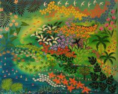 Devaneios IV Lucia de Lima (Brasil, contemporânea) acrílica sobre tela, 40 x 50 cm www.luciadelima.com