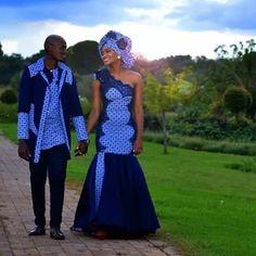 Traditional Wedding, Traditional Dresses, Shweshwe Dresses, Wedding Dressses, Ankara, Pins, Bride, Instagram, Fashion