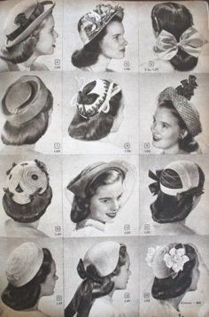 absolutely lovely 1940s hairstyle