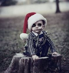 Best kid costume ever! - Jack Skellington