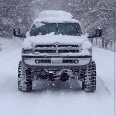 Dodge Ram 2500 In the snow Jacked Up Trucks, Ram Trucks, Dodge Trucks, Jeep Truck, Diesel Trucks, Cool Trucks, Pickup Trucks, Truck Memes, Lifted Dodge
