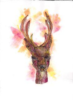 Autumn Deer.