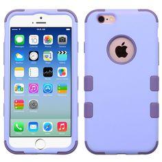MYBAT TUFF Hybrid iPhone 6/6S Case - Lavender/Purple