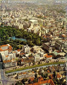Marginea de Nord a cartierului Izvor - 1976, imediat dupa inceperea lucrarilor la metrou Bucharest Romania, Old City, Time Travel, City Photo, Nostalgia, Places To Visit, Memories, Buildings, Dan