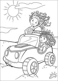 Kleurplaat  op Kids-n-Fun