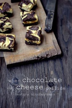 HESTI'S KITCHEN : yummy for your tummy: Black and White Chocolate Brownies