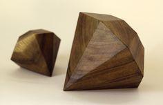 Wooden Diamond