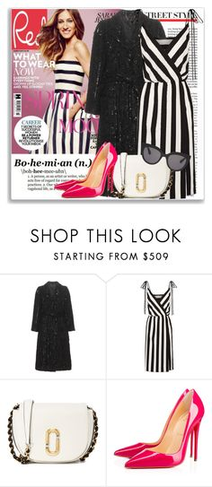 """""""Celeb Style: Sarah Jessica Parker"""" by coraline-marie ❤ liked on Polyvore featuring Sarah Jessica Parker, Marc Jacobs, Christian Louboutin and Christian Dior"""