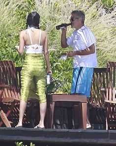 George Clooney cooled down with a beer during his April 2012 trip to #Cabo.