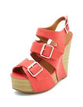I have been keeping my eye on these Charlotte Russe Wedges for a longgg time!