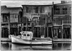 Old Port - Portland, Maine by Arlo West, via Flickr