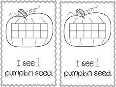 My Pumpkin Seed: A Counting Story