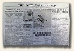 Headlines news from 1903 through 1906