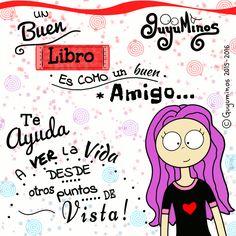Me encantan!!!  #libros #leer #yoleo #guyuminos #amigo #gif #ilustracion