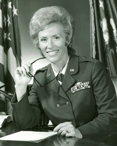 Retired Maj. Gen. Jeanne M. Holm -- The first woman to serve as major general in the Air Force, and the Department of Defense, passed away Feb. 15. sHE is credited as the single driving force in achieving parity for military women and making them a viable part of the mainstream military. The Portland, Ore., native attained the rank of two-star general in 1973 after a career that began 31 years earlier in 1942 when she enlisted in the Army.
