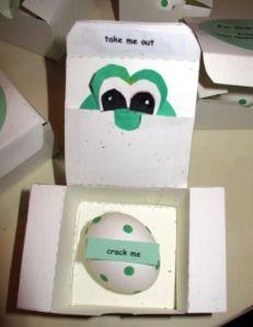 Yoshi egg invitation.