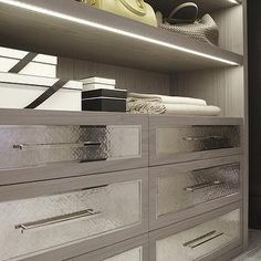 Hammered Metal Drawers, Contemporary, closet, Laura Hammett