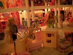 Checkout Counter Plastic Shelving Units, Barbie Store, Counter, Restoration, Home Decor, Decoration Home, Plastic Shelves, Room Decor, Home Interior Design