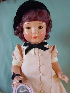 Vintage Jane Withers doll by Madame Alexander, 1937.