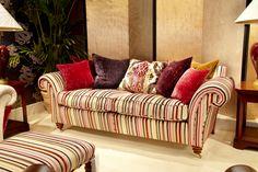 Duresta at Interiors show 2014 - NEC. Watson large sofa