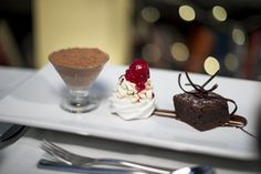 Trio of desserts #wedding #catering #caterers