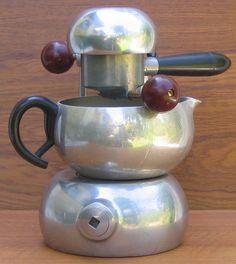 // Brevetti Robbiati Milano Atomic Coffee Maker