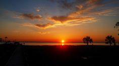 Sunset over St. Joe Bay
